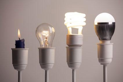 Energie sparen Beleuchtung