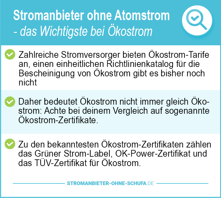 stromanbieter ohne atomstrom 2019 kostrom im test. Black Bedroom Furniture Sets. Home Design Ideas
